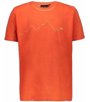 CMP Kid T-Shirt Tričko C589 Oranžové