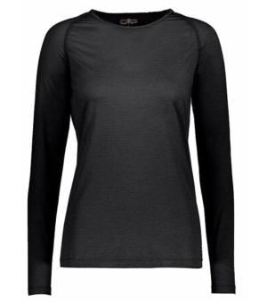 CMP Woman T-Shirt Tričko U817 Čierne