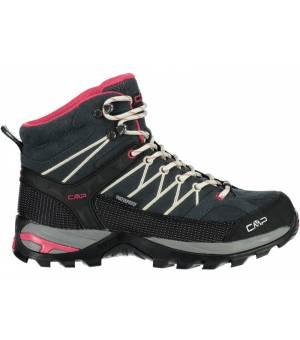 CMP Rigel Mid Wmn Trekking Shoe WP Antracite – Off White
