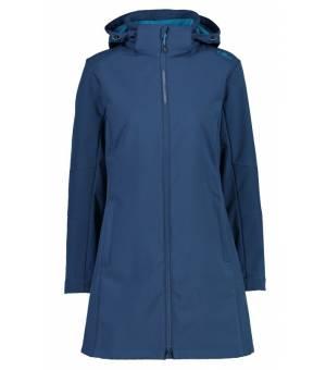 CMP Woman Parka Zip Hood Blue Ink bunda