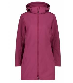 CMP Woman Parka Zip Hood Amaranto bunda