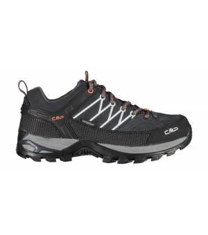 CMP Rigel Low Trekking Shoes WP Antracite – Flash Orange