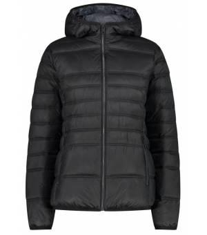 CMP Woman Jacket Fix Hood Nero bunda