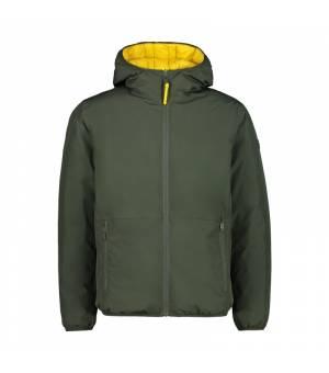 CMP Man Reverse Jacket Fix Hood Bark bunda