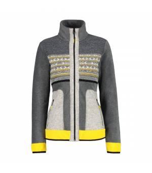 CMP Woman Jacket Antracite Melange mikina