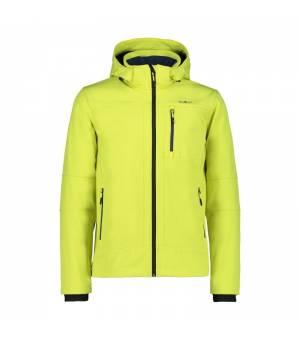 CMP Man Jacket Zip Hood Lime bunda