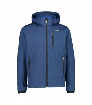 CMP Man Jacket Zip Hood Blue Ink bunda