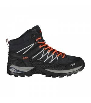 CMP Rigel Mid Trekking Shoe WP Antracite – Flash Orange