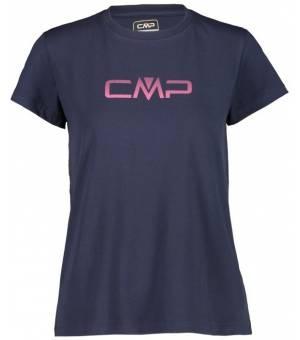 CMP Woman T-Shirt Black Blue – Sangria tričko
