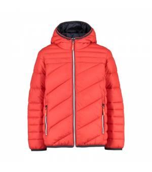 CMP Kid Jacket Fix Hood Grenadine bunda