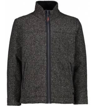 CMP Man Jacket Mikina U905 Sivá