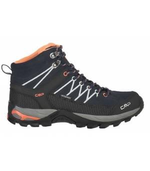 CMP Rigel Mid WMN Trekking Shoe WP Obuv 92AD B. Blue - Giada - Peach