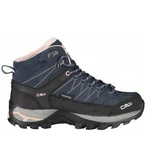 CMP Rigel Mid Wmn Trekking Shoe WP B. Blue/Giada/Peach