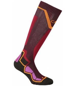 CMP Ski Sock Thermocool Ponožky 16HH Bordové