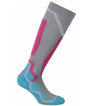 CMP Ski Sock Thermocool Ponožky 99UH Sivé