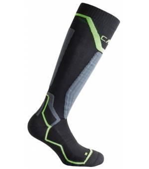CMP Ski Sock Thermocool Ponožky U901 Čierne
