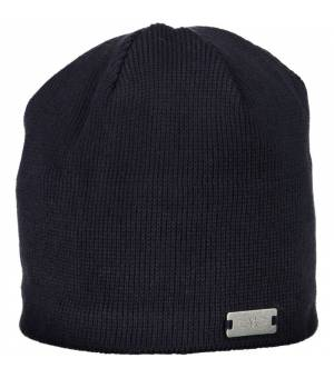 CMP Man Knitted Hat Black Blue Čiapka