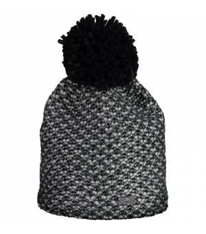 CMP Woman Knitted Hat Black Blue Čiapka