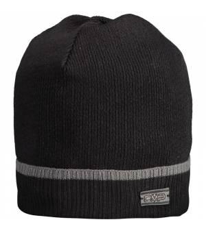 CMP Man Knitted Hat Nero Čiapka