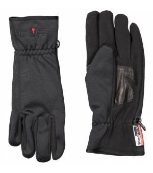 CMP Woman Softshell Gloves Nero Rukavice