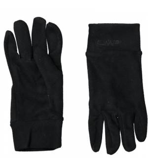 CMP Woman Fleece Gloves Nero Rukavice
