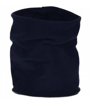 CMP Woman Fleece Neckwarmer Black Blue Šatka