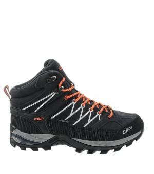 CMP Rigel Mid Trekking Shoe WP Antracite Orange Obuv
