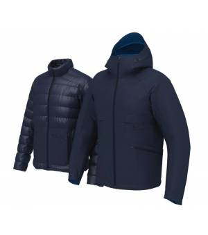 Colmar Bormio M Ski Down Jacket Blue Black