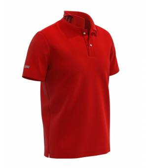 Colmar Mens Knitted Shirt Bright Red tričko