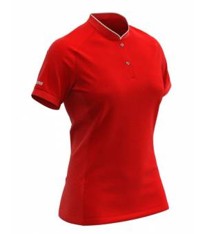 Colmar Ladies Knitted Shirt Bright Red tričko