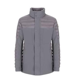 Colmar Mens Neoprene Effect Lightweight Field Jacket Iron bunda