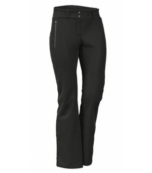 Colmar Ladies Softshell Ski Pants With Gaiters Black nohavice