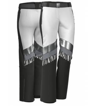 Colmar Moonlight Shadow Ski Pants Black-White-Black-Silver-Iron nohavice
