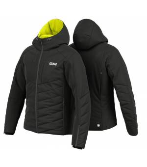 Colmar Wengen M Ski Jacket Black-Lime bunda