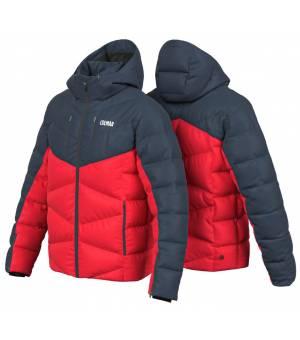 Colmar Quilted M Ski Jacket bright red/blue/black bunda