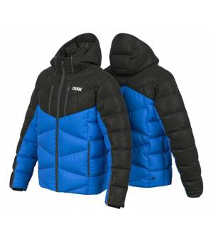 Colmar Chamonix Man Down Ski Jacket Peacock-Black bunda