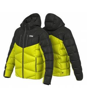 Colmar Chamonix M Down Ski Jacket Lime Black bunda