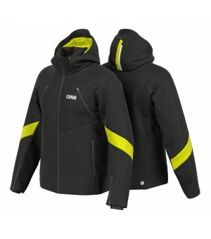 Colmar Schuss M Ski Jacket Black/Lime bunda