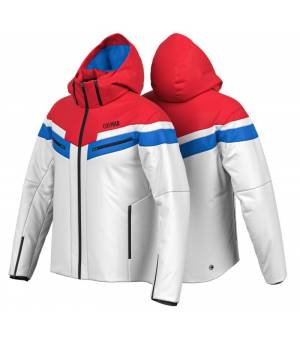 Colmar Golden Eagle M Ski Jacket White - Bright - Red - Peacock bunda
