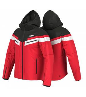 Colmar Golden Eagle M Ski Jacket Bright Red-Black-White bunda