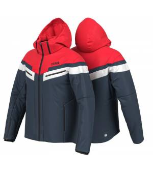 Colmar Golden Eagle M Ski Jacket Blue Black- Bright Red bunda