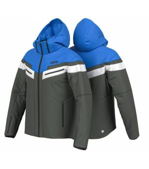 Colmar Golden Eagle M Ski Jacket Black Board - Peacock bunda
