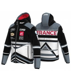 Colmar French National Team M Ski Jacket white/black/stone bunda