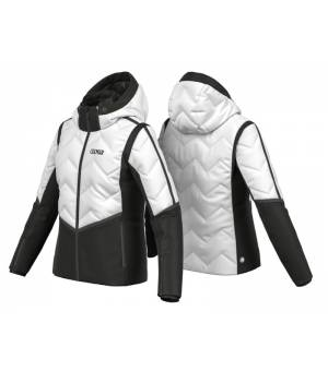 Colmar Ladies Down Jacket White-Black bunda