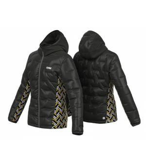 Colmar Magnetic Zip Hybrid W Jacket Black-Sunflower/Black/White bunda