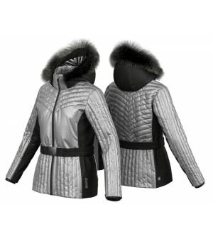 Colmar Moonlight Shadow W Ski Jacket + Fur Step bunda