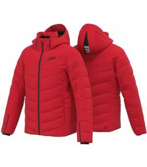 Colmar Hokkaido Mens Down Ski Jacket Bright Red-Black bunda