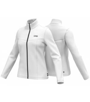 Colmar Ladies Full Zip Stretch Fleece Sweatshirt White mikina