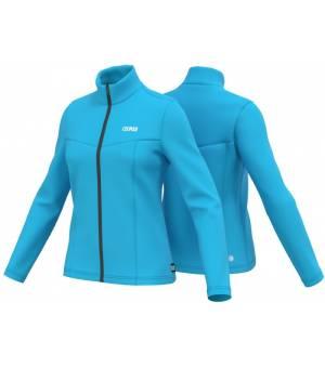 Colmar Ladies Full Zip Stretch Fleece Sweatshirt Bay Blue mikina