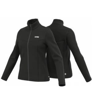 Colmar Ladies Full Zip Stretch Fleece Sweatshirt Black mikina